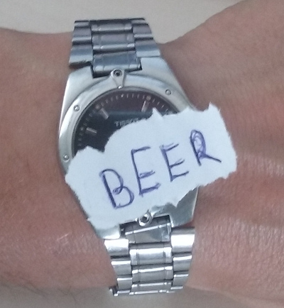 It is beer o'clock!